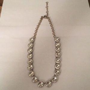 Jcrew rhinestone chain necklace